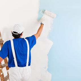 Huis schilderen badkamer slaapkamer kinderkamer for Wat kost een huis schilderen