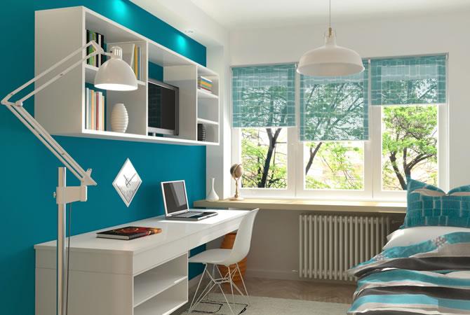 Kamer verven groene muur woonkamer green wall livingroom kamer
