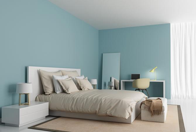 slaapkamer schilderen prijs schilder muren plafond