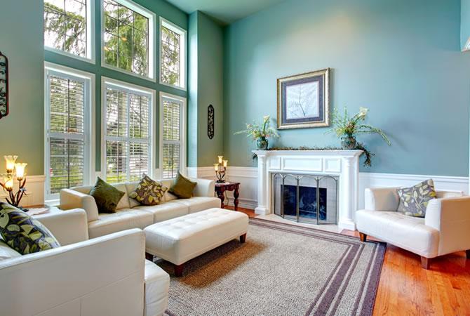 Living salon verven ✅ prijs schilder muren plafond vloeren